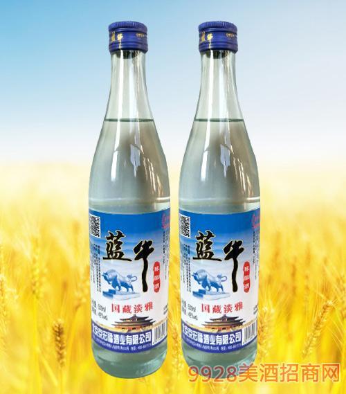 蓝牛陈酿酒国藏淡雅42度500ml