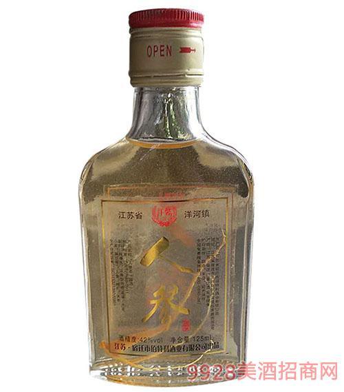 人参酒42度125ml