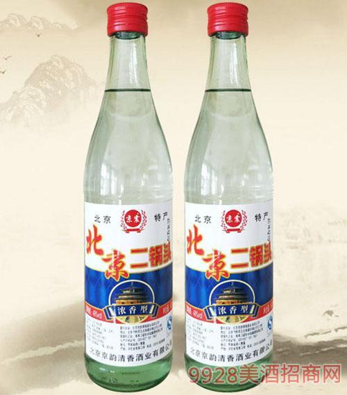 京震北京二锅头酒40度500ml