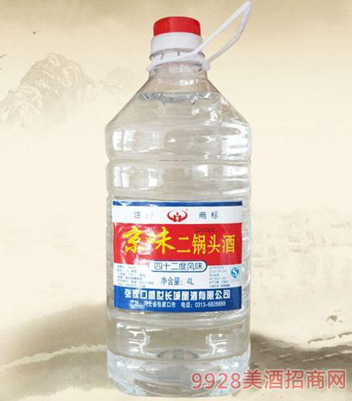 京味二锅头酒38度4L