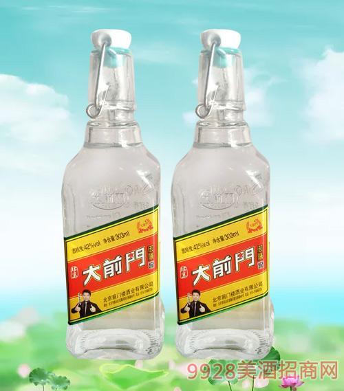 北京大前门酒42度303ml