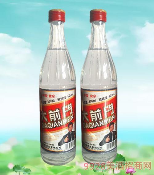 北京大前门酒42度500ml