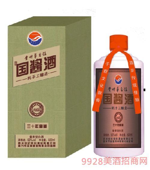 国酱酒三十年窖藏