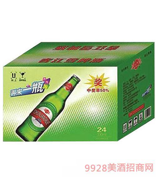 春江雪啤酒箱装330mlx24