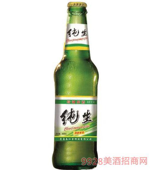 纯生瓶装啤酒