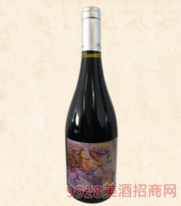 柏威睡美人干红葡萄酒