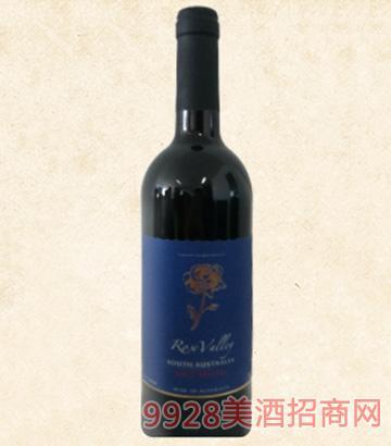 澳洲玫瑰山�f干�t葡萄酒