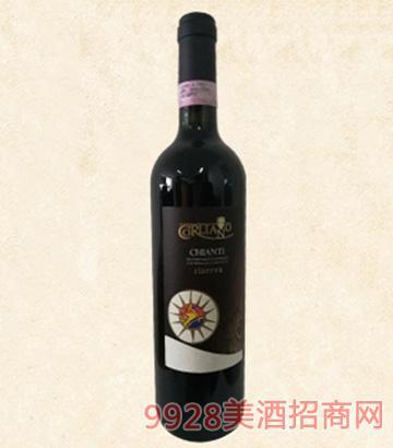 意大利卡��Z干�t葡萄酒
