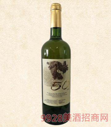 意大利50年老藤歌丽罗干白葡萄酒