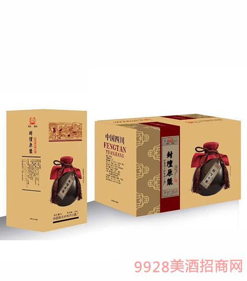 泸州封坛原浆酒52度480ml(箱)