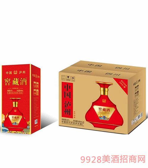 泸州窖藏酒52度480ml