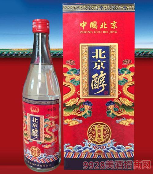 北京醇酒·黄龙酒50.3度500ml