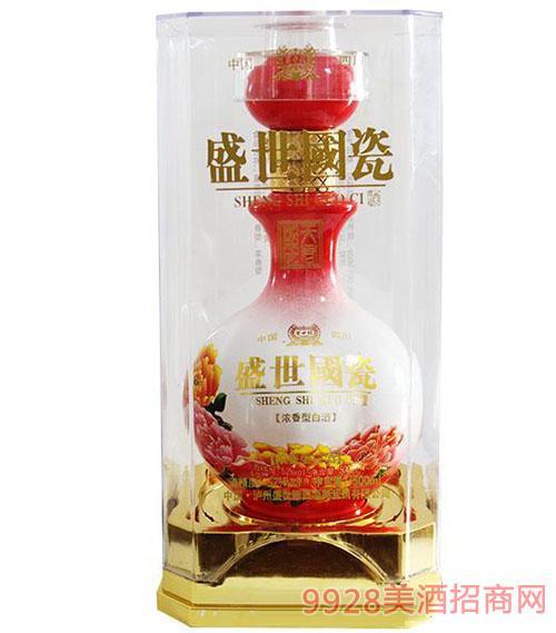 盛世国瓷浓香型白酒52度500ml