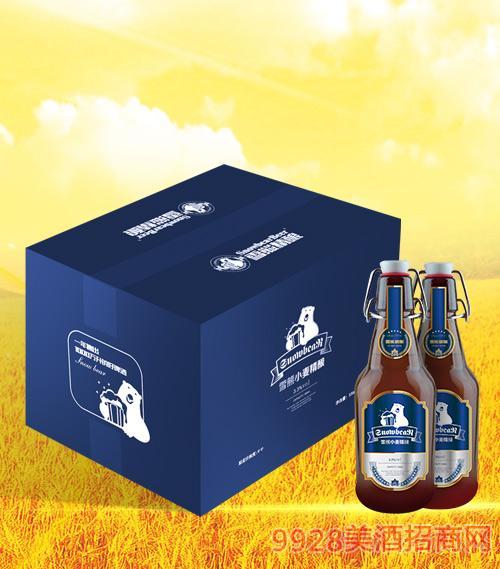 雪熊小麦精酿啤酒蓝色经典330ml