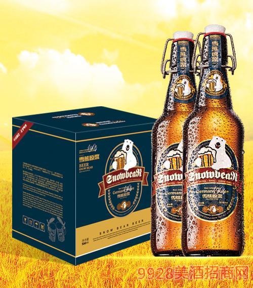 雪熊原浆啤酒1904 500ml