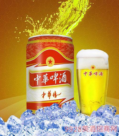 330ml中华啤酒(中华情)易拉罐
