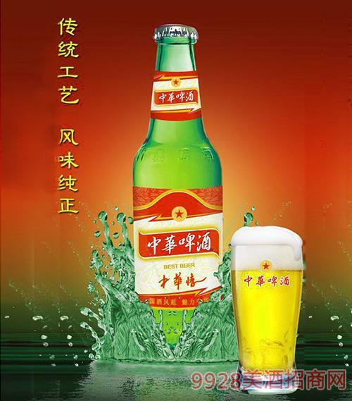 330ml中华啤酒(中华情)青瓶