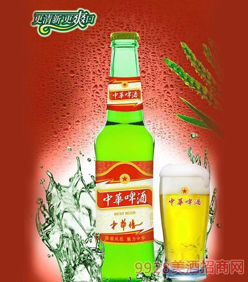 330ml中华啤酒(中华情)绿瓶