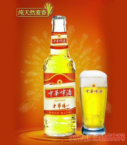 330ml中华啤酒(中华情)白瓶