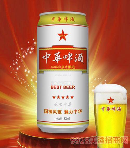 500ml中华啤酒(盛世中华)易拉罐
