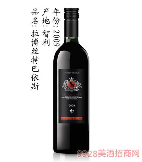 拉博丝特巴依斯葡萄酒2009
