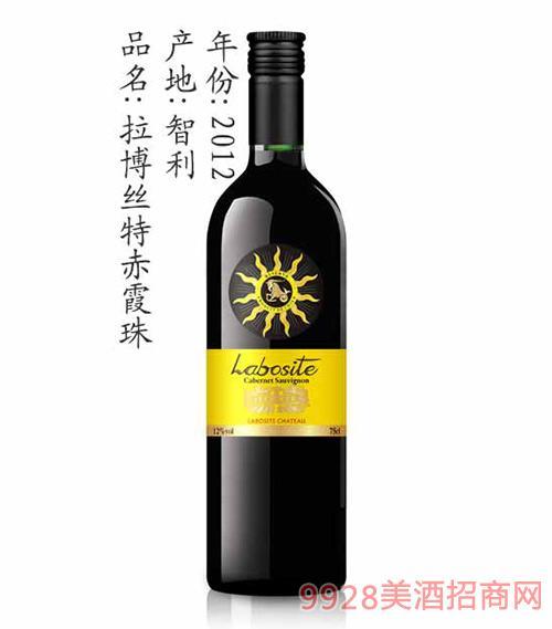 拉博丝特赤霞珠葡萄酒2012