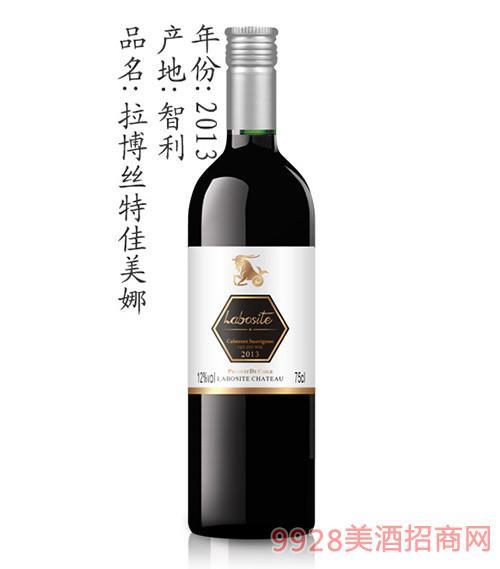 拉博丝特佳美娜葡萄酒2013