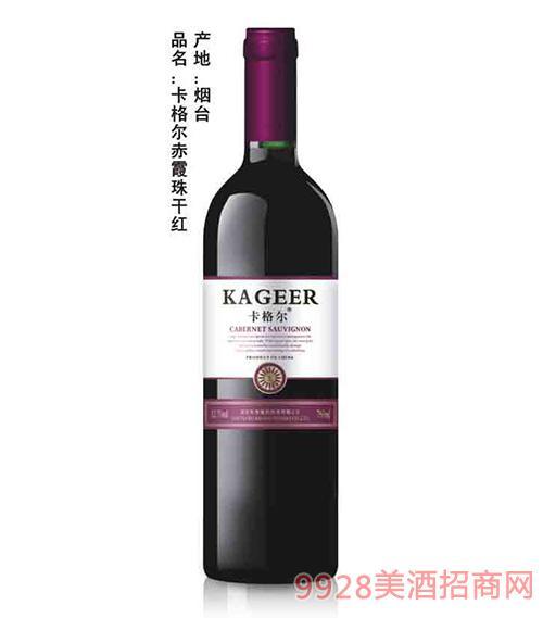 卡格尔赤霞珠干红葡萄酒紫