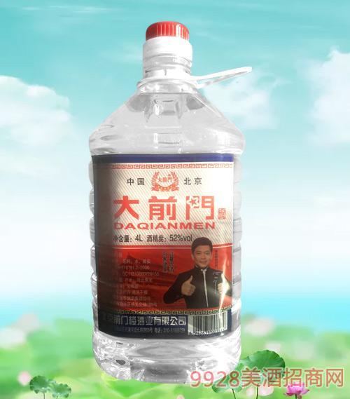 北京大前门酒桶装52度4L