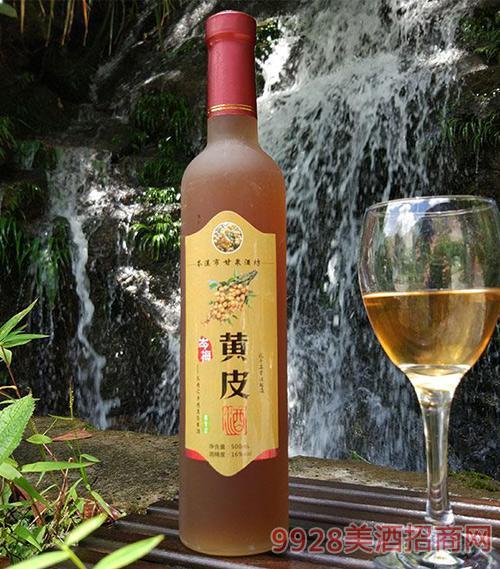 岑梅黄皮酒