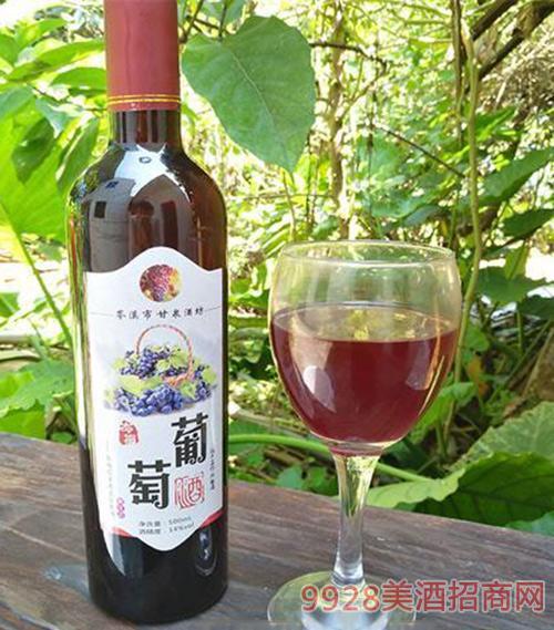 瓶装500ml红葡萄酒