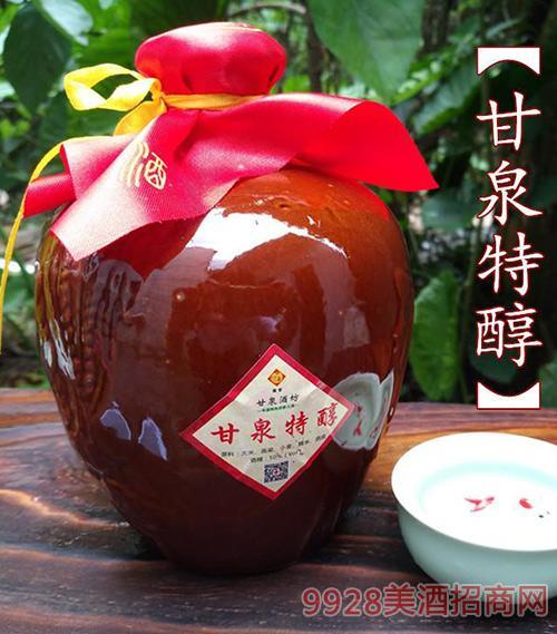 甘泉特醇50度米香型粮食酒