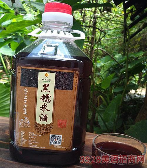 黑糯米酒月子酒产后酒