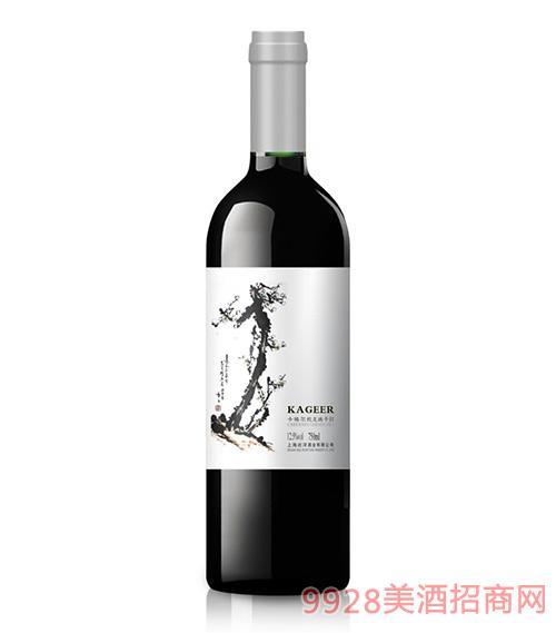 卡格尔梅花蛇龙珠干红葡萄酒