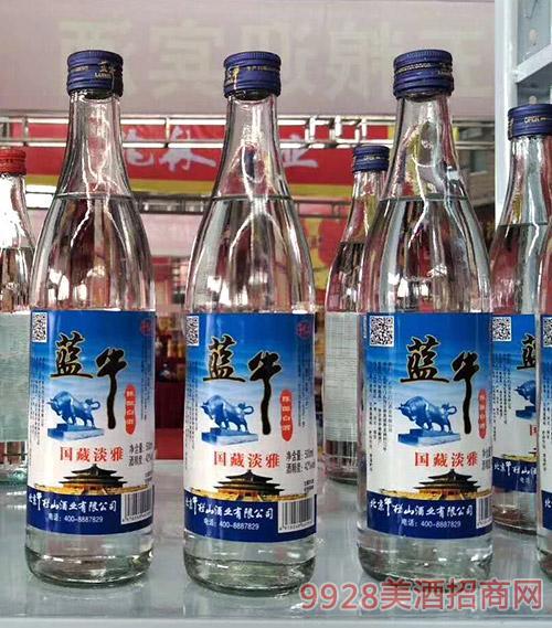 蓝牛陈酿白酒国藏淡雅酒