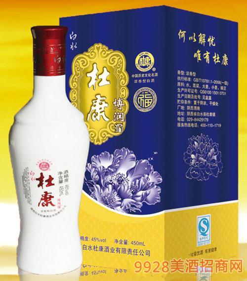 白水杜康酒蓝福45度450ml