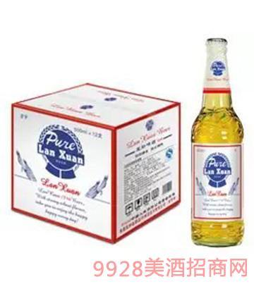 蓝轩啤酒 500ml