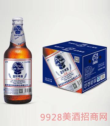 蓝轩啤酒纯臻500ml