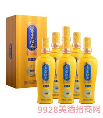 富贵江南酒52度500ml(经典F15六瓶套装)