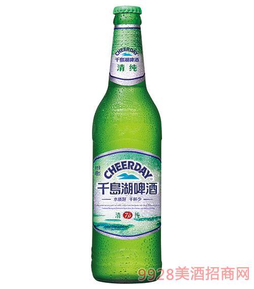 千岛湖啤酒7度488ml清纯