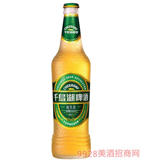 千岛湖啤酒8度500ml原生态