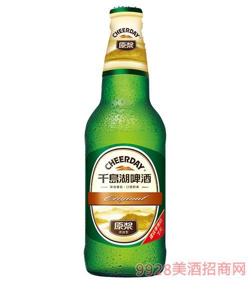 千岛湖啤酒9度420ml原浆