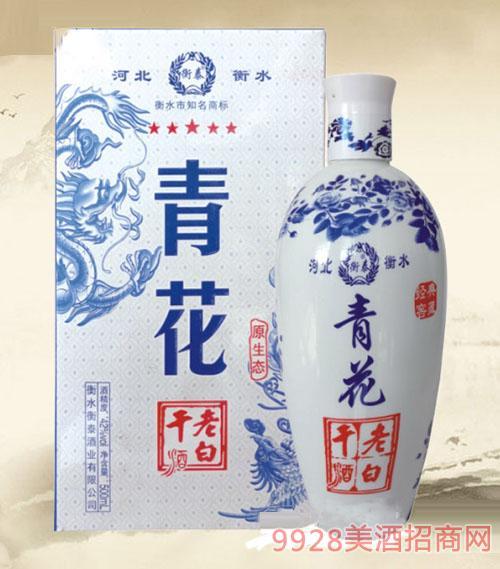 衡泰老白干酒青花42度500ml
