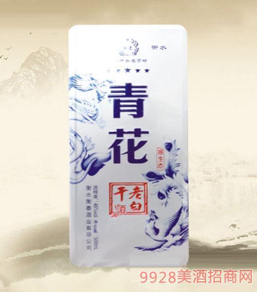 衡泰老白干酒原生态青花46度500ml