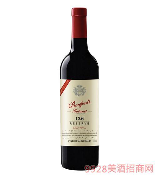 奔富海兰酒庄精选126干红葡萄酒13.5度