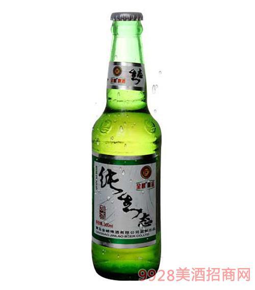青島全嶗純生態啤酒300ml