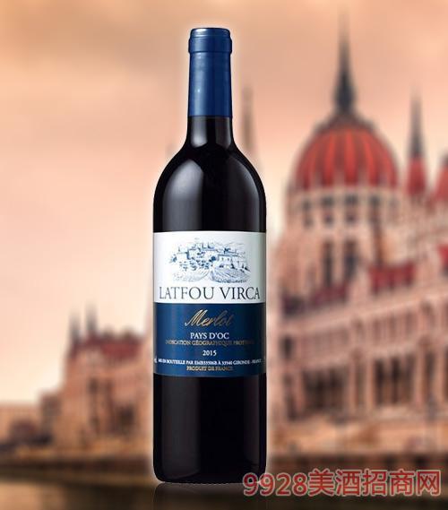 拉图维尔卡古堡T3干红葡萄酒ICP