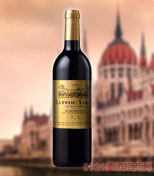 拉图维尔卡皇 家T6干红葡萄酒AOP