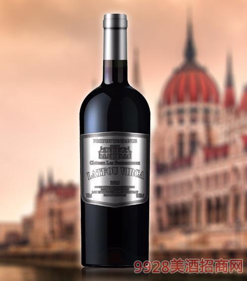 拉图维尔卡皇 家K6干红葡萄酒AOP