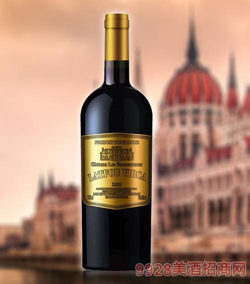 拉图维尔卡皇 家K9干红葡萄酒AOP